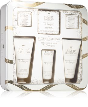 Grace Cole Luxury Bathing Bergamot Ginger & Lemongrass Gift Set (for Body)