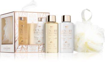 Grace Cole Luxury Bathing Warm Vanilla & Fig dárková sada
