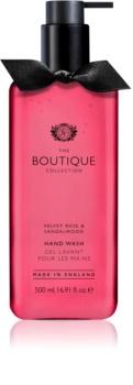 Grace Cole Boutique Velvet Rose & Sandalwood sapone liquido per le mani