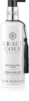 Grace Cole White Nectarine & Pear crema de maini cu textura fina