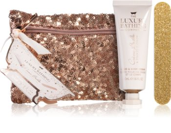 Grace Cole Luxury Bathing Creme Brulée & Orange Blossom Gift Set (for Hands and Nails)