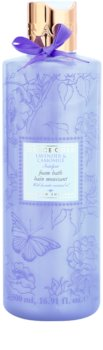 Grace Cole Floral Collection Lavender & Camomile espuma de baño