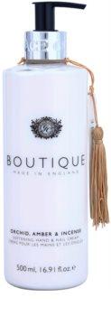 Grace Cole Boutique Orchid, Amber & Incense crema suavizante para manos y uñas