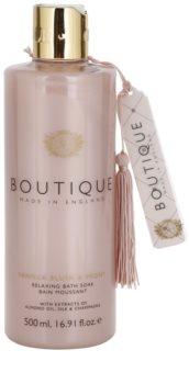 Grace Cole Boutique Vanilla Blush & Peony espuma de banho relaxante