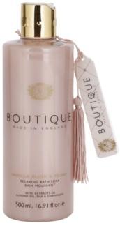 Grace Cole Boutique Vanilla Blush & Peony espuma de baño relajante