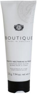 Grace Cole Boutique White Nectarine & Pear manteca corporal de lujo