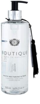 Grace Cole Boutique White Nectarine & Pear jabón líquido para manos