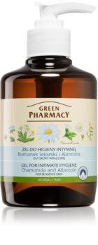 Green Pharmacy Body Care Chamomile & Allantoin gel na intimní hygienu pro citlivou pokožku