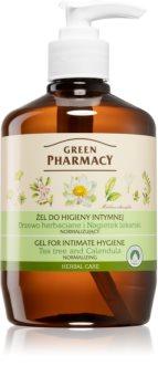 Green Pharmacy Body Care Marigold & Tea Tree gel para higiene íntima