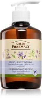 Green Pharmacy Body Care Sage & Allantoin gel apaziguador para higiene íntima