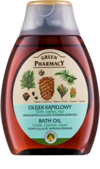 Green Pharmacy Body Care Cedar & Cypress & Algae olej do kúpeľa