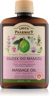 Green Pharmacy Body Care aceite para masaje contra la celulitis