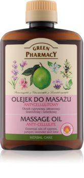 Green Pharmacy Body Care Massageöl gegen Zellulitis