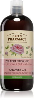 Green Pharmacy Body Care Muscat Rose & Green Tea gel de duș