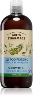 Green Pharmacy Body Care Olive & Rice Milk гель для душа