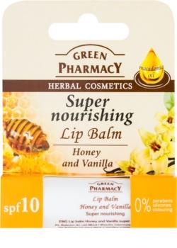 Green Pharmacy Lip Care подхранващ балсам за устни SPF 10