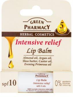 Green Pharmacy Lip Care balsam de buze ultra-hidratant SPF 10