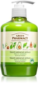 Green Pharmacy Hand Care Aloe Flydende sæbe