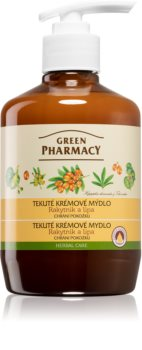 Green Pharmacy Hand Care Sea Buckthorn savon liquide