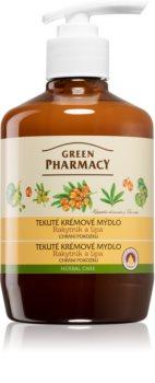 Green Pharmacy Hand Care Sea Buckthorn жидкое мыло