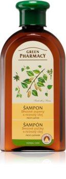 Green Pharmacy Hair Care Birch Buds & Castor Oil korpásodás elleni sampon