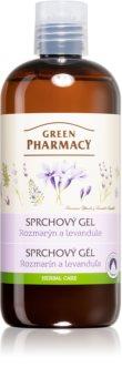 Green Pharmacy Body Care Rosemary & Lavender gel de banho cuidado intensivo
