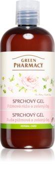 Green Pharmacy Body Care Rose & Green Tea gel de duche suave