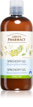 Green Pharmacy Body Care Olive & Rice Milk gel de banho nutritivo