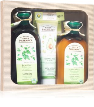Green Pharmacy Herbal Care coffret cadeau (pour cheveux normaux)