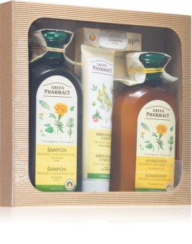 Green Pharmacy Herbal Care Gift Set  (voor Gezicht, Lichaam en Haar)