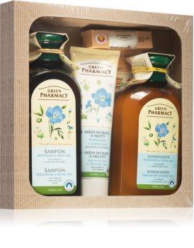 Green Pharmacy Herbal Care Gift Set (For Coloured Or Streaked Hair)
