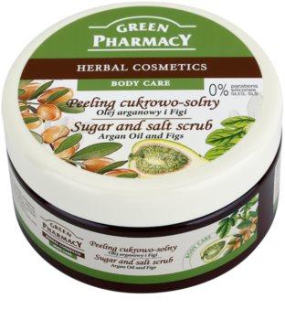 Green Pharmacy Body Care Argan Oil & Figs Skrub til sukker og salt