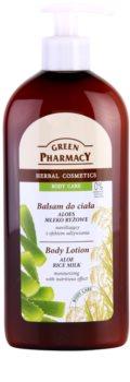 Green Pharmacy Body Care Aloe & Rice Milk feuchtigkeitsspendende Body lotion mit nahrhaften Effekt