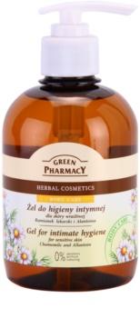 Green Pharmacy Body Care Chamomile & Allantoin gel per l'igiene intima per pelli sensibili
