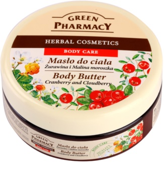 Green Pharmacy Body Care Cranberry & Cloudberry manteiga corporal