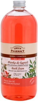 Green Pharmacy Body Care Muscat Rose & Green Tea bain moussant
