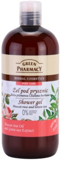 Green Pharmacy Body Care Muscat Rose & Green Tea gel de douche