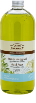 Green Pharmacy Body Care Olive & Rice Milk pjena za kupanje