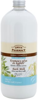 Green Pharmacy Body Care Olive & Rice Milk lait de bain