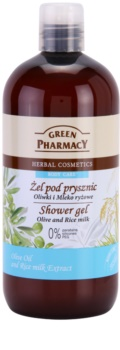 Green Pharmacy Body Care Olive & Rice Milk gel de duș