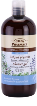 Green Pharmacy Body Care Rosemary & Lavender τζελ για ντους