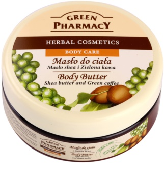 Green Pharmacy Body Care Shea Butter & Green Coffee burro corpo
