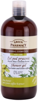 Green Pharmacy Body Care Shea Butter & Green Coffee gel doccia