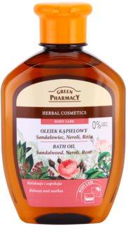 Green Pharmacy Body Care Sandalwood & Neroli & Rose huile de bain