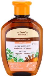 Green Pharmacy Body Care Tangerine & Cinnamon olio da bagno