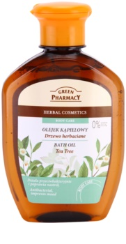 Green Pharmacy Body Care Tea Tree olio da bagno