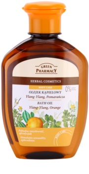 Green Pharmacy Body Care Ylang-Ylang & Orange aceite de baño
