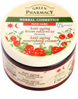 Green Pharmacy Face Care Cranberry crema hranitoare împotriva îmbătrânirii pielii