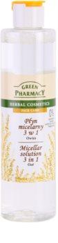 Green Pharmacy Face Care Oat apa cu particule micele 3 in 1