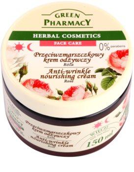 Green Pharmacy Face Care Rose подхранващ крем против бръчки